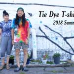 Tie Dye T-shirtの宣伝写真を撮らせていただきました