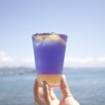 【グラデーションがきれい】太海にオーシャンレモネード飲んでみて〜