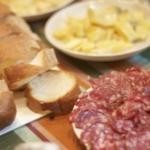 フランスからの来客!楽しくチーズパスタパーティ