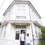 房総の海辺の白いカフェ『TRAYCLE Market & Coffee』